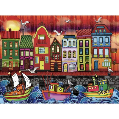 AMSTERDAM 1000 pieces jigsaw puzzle by ANIE MALTAIS