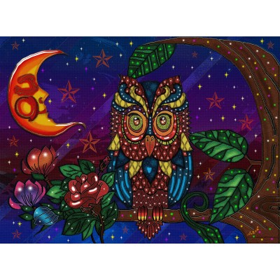 NIGHT GUARDIAN 300 XXL pieces jigsaw puzzle