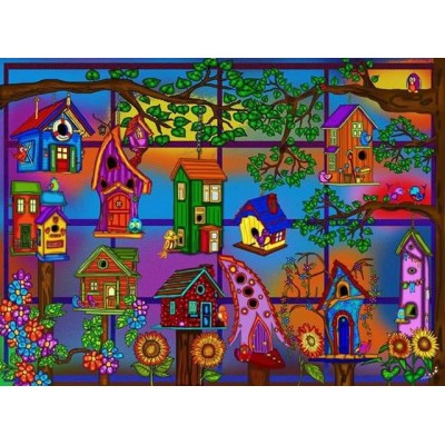 SPRING IS HERE 1000 pieces jigsaw puzzle