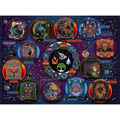 ZODIAC1000 pieces jigsaw puzzle