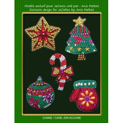 Christmas Decorations Kit CANE by Anie Maltais