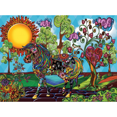 MAGICAL GARDEN 1000 pieces jigsaw puzzle