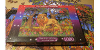 LION'S HEART 1000 pieces jigsaw puzzle