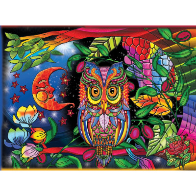 NIGHT OWL 1000 pieces jigsaw puzzle