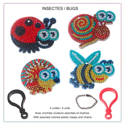 BUGS Key Chains