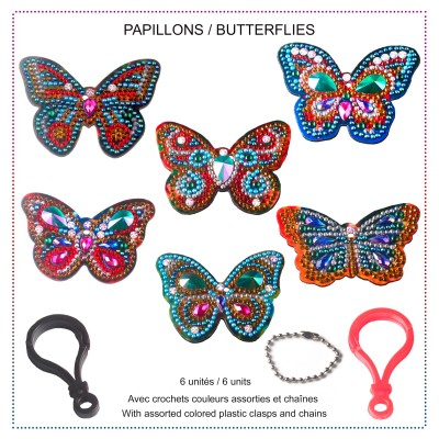 BUTTERFLIES Key Chains