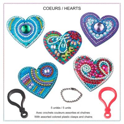 HEARTS Key Chains