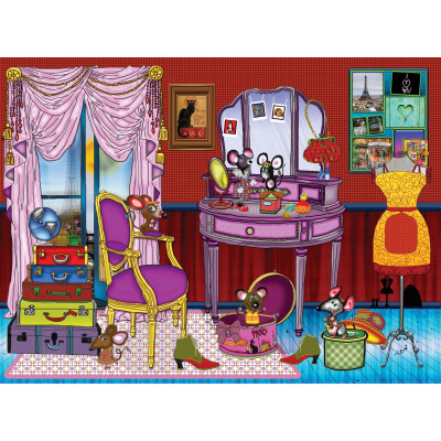 THE SPICE MICE 1000 pieces jigsaw puzzle