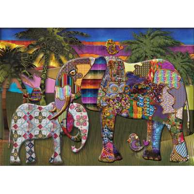 MOTHER AND CHILD 1000 pieces jigsaw puzzle