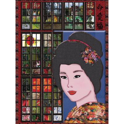 Casse-Tête 1000 morceaux «La Geisha»