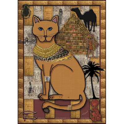 THE GOLDEN CAT 1000 pieces jigsaw puzzle