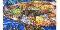 MOSAIC FISH 1000 pieces jigsaw puzzle