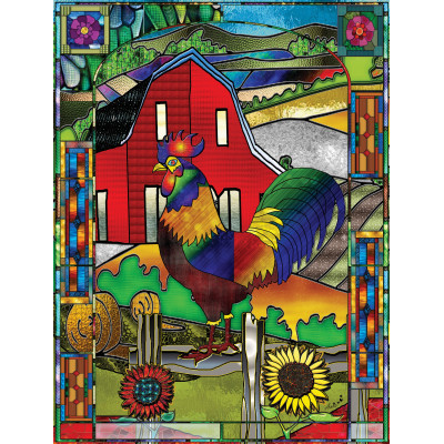 THE ROOSTER 1000 pieces jigsaw puzzle