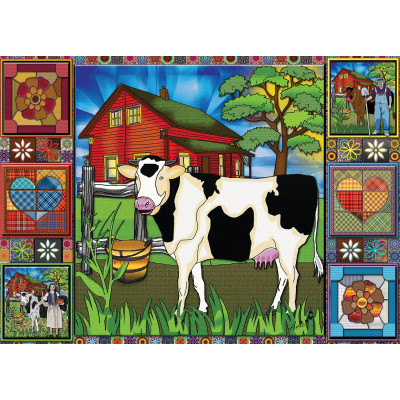 COUNTRYSIDE FEELING 1000 pieces jigsaw puzzle